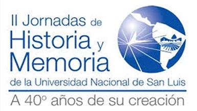 IIº Jornadas de Historia y Memoria de la UNSL