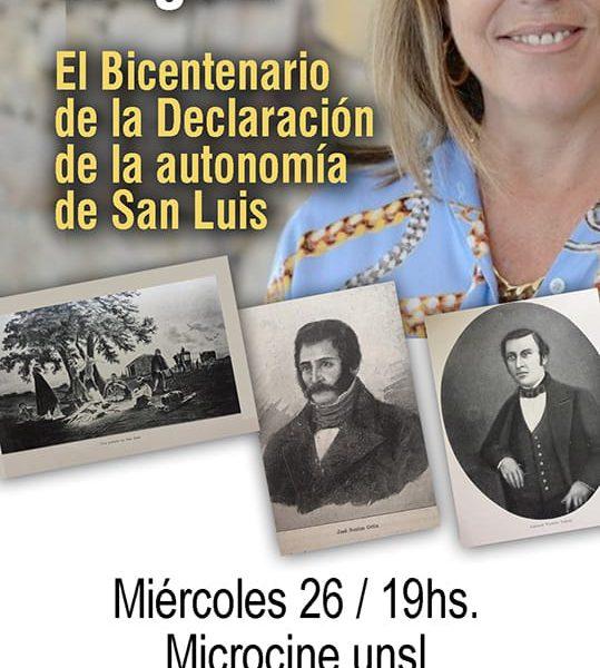 La conmemoración del Bicentenario en la Universidad Nacional de San Luis